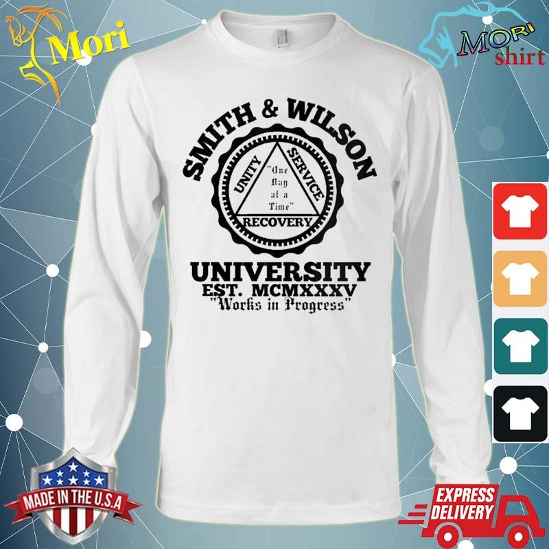 Smith And Wilson University One Day At A Time Shirt Long Sleeve