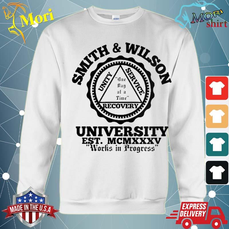 Smith And Wilson University One Day At A Time Shirt hoodie