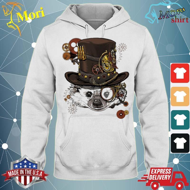 Steampunk Hedgehog Steampunk Animal Lovers Shirt sweater