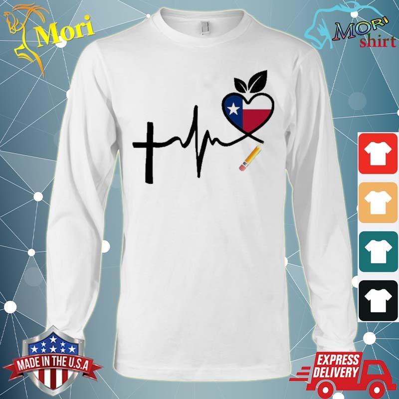 Texas Teacher Shirt For National Teacher Day Shirt Long Sleeve
