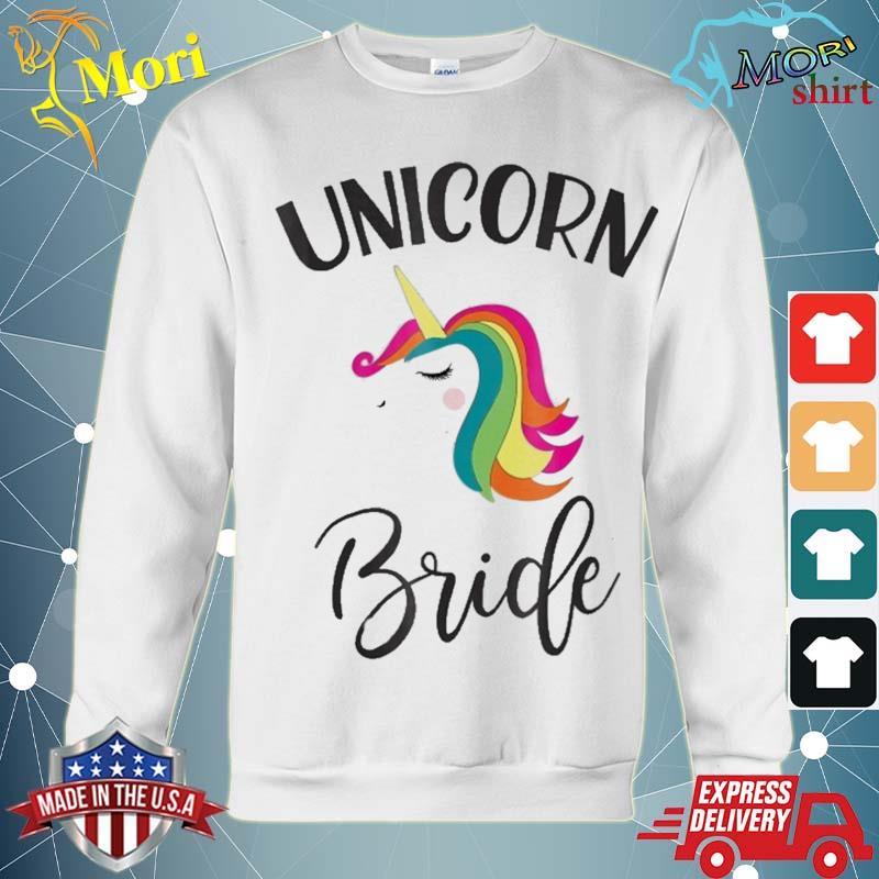 Unicorn Bride Bachelorette Shower Matching Group Set Shirt hoodie