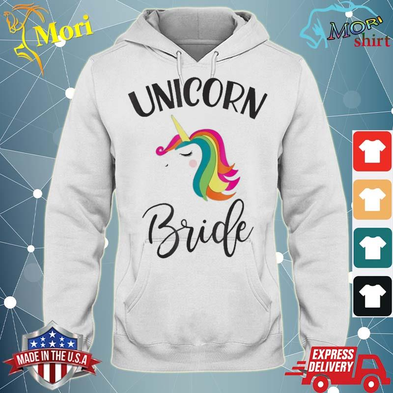 Unicorn Bride Bachelorette Shower Matching Group Set Shirt sweater