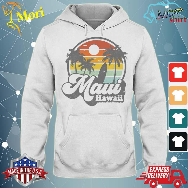 Vintage Maui Hawaii Hawaiian Beach Surfing 70'S Surf Gift Shirt sweater
