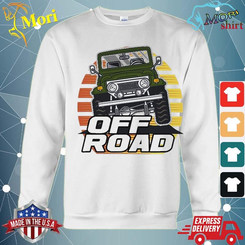 Vintage Suv Retro 70S 80S Sunset Off Road Shirt hoodie