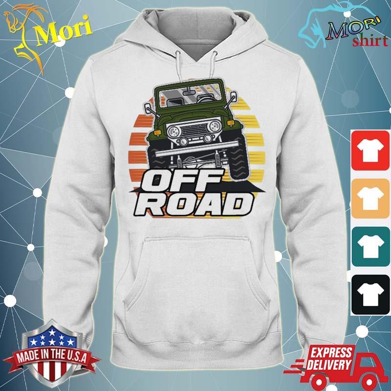 Vintage Suv Retro 70S 80S Sunset Off Road Shirt sweater