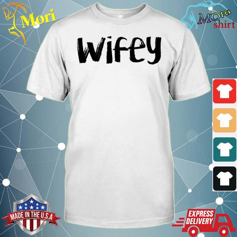 Wifey Couple Light Colors Couple Matching T Shirt