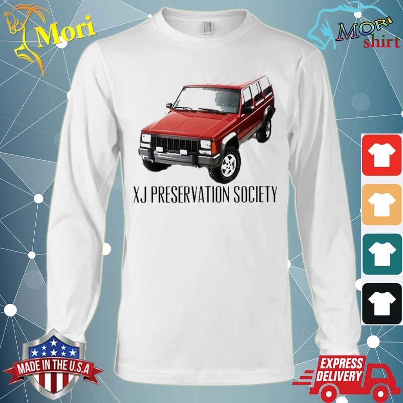 Xj Preservation Society Shirt Long Sleeve