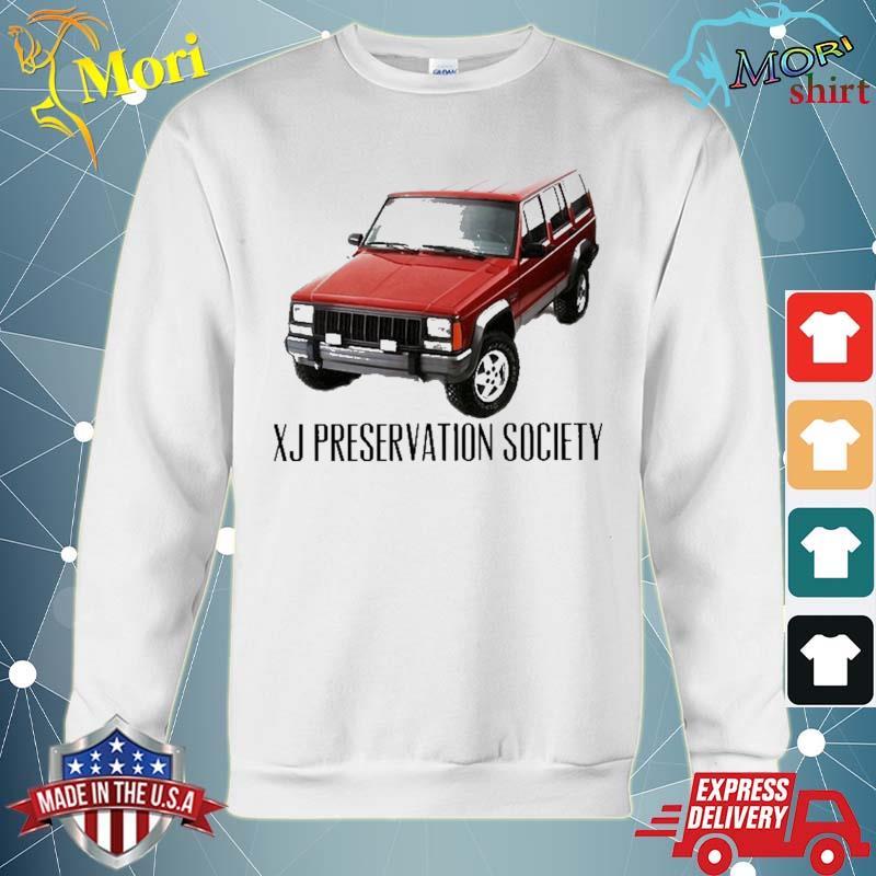 Xj Preservation Society Shirt hoodie