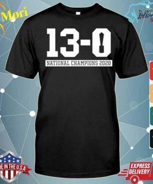 13 0 Alabama National Champions 2021 shirt
