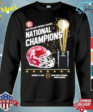 2021 College Football Playoff National Championship Victory s hoodie