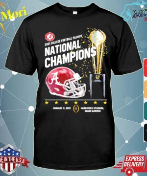 2021 College Football Playoff National Championship Victory shirt