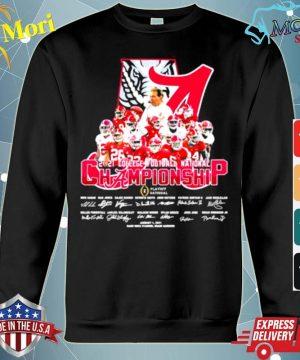 Alabama Cfp National Champions 2021 Signature Team Football s hoodie