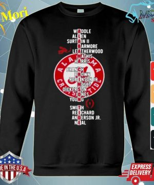 Alabama Crimson Tide Player Team Name s hoodie