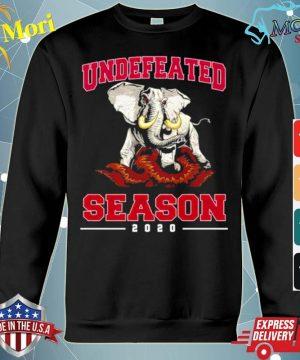Alabama Crimson Tide Undefeated Season 2020 s hoodie