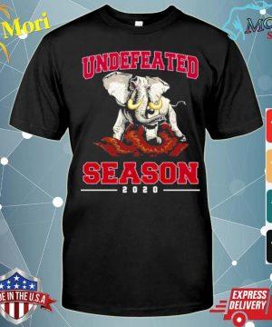 Alabama Crimson Tide Undefeated Season 2020 shirt