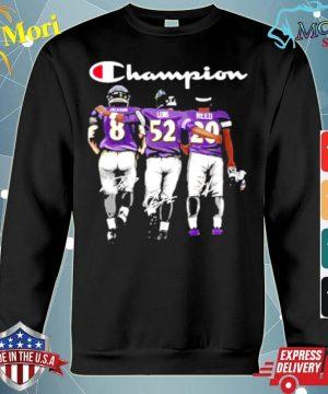 Baltimore ravens jackson lewis reed champion signatures s hoodie