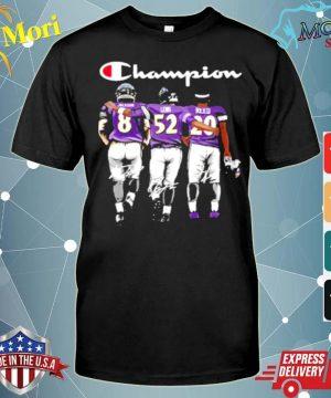 Baltimore ravens jackson lewis reed champion signatures shirt