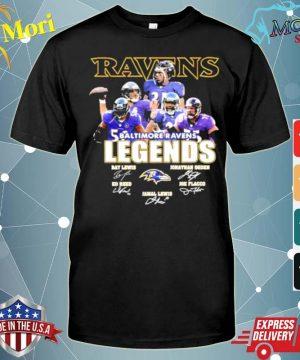 baltimore ravens ravens legends ray team shirt