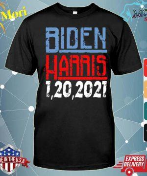 Biden Harris 1 20 2021 shirt