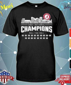 Crimson Tide 2021 national Champions roll Tide roll 1935 2021 shirt