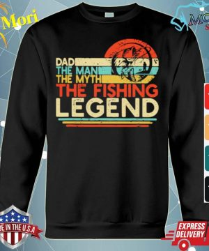 Dad The Man The Myth The Fishing Legend Vintage s hoodie