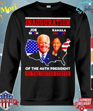 Joe Biden and Kamala Harris inauguration of the 46th president of the united states s hoodie