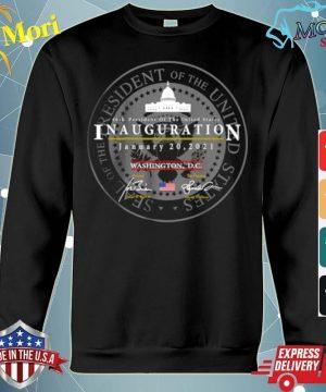 Joe Biden Kamala Harris President of the United States 46th inauguration january 20 2021 Washington DC s hoodie