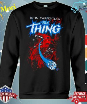 John Carpenters The Thing s hoodie