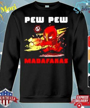 Official Deadpood pew pew madafakas s hoodie